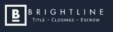 Brightline - Title | Closings | Escrow